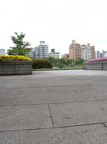 比治山神社の一角